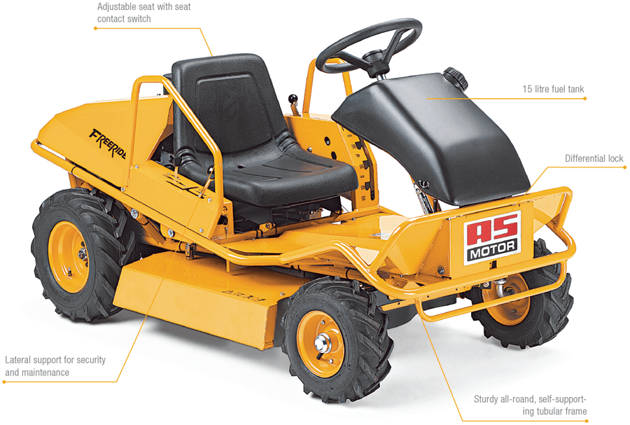 AS 800 Ride-On Mower
