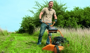 Walk Behind Slasher Mowers Australia